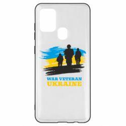 Чохол для Samsung A21s War veteran оf Ukraine
