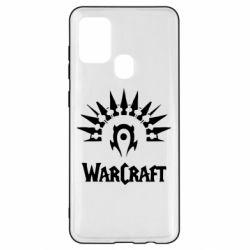 Чехол для Samsung A21s WarCraft Logo