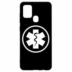 Чохол для Samsung A21s Warface: medic