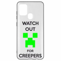 Чехол для Samsung A21s Watch Out For Creepers