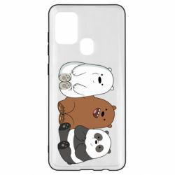 Чехол для Samsung A21s We are ordinary bears