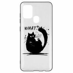 Чохол для Samsung A21s What cat