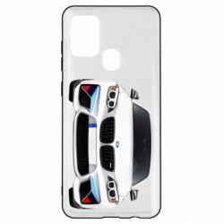 Чохол для Samsung A21s White bmw