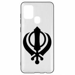 Чехол для Samsung A21s White Khanda