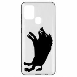 Чохол для Samsung A21s Wild boar