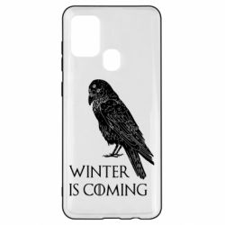 Чохол для Samsung A21s Winter is approaching and crow