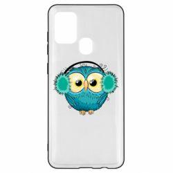 Чехол для Samsung A21s Winter owl