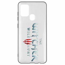 Чехол для Samsung A21s Witcher Logo