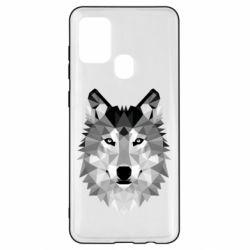 Чохол для Samsung A21s Wolf Art