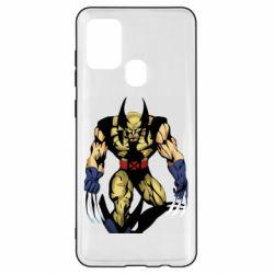 Чохол для Samsung A21s Wolverine comics