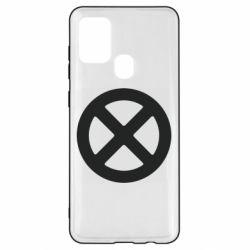 Чохол для Samsung A21s X-man logo