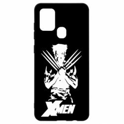 Чехол для Samsung A21s X men: Logan