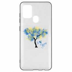 Чохол для Samsung A21s Я люблю Україну і дерево