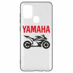 Чохол для Samsung A21s Yamaha Bike