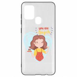 Чохол для Samsung A21s You are super girl