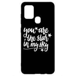 Чехол для Samsung A21s You are the star in my sky