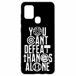 Чехол для Samsung A21s You can't defeat thanos alone