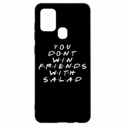 Чохол для Samsung A21s You don't friends with salad
