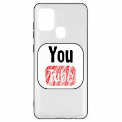 Чохол для Samsung A21s YouTube