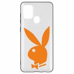 Чохол для Samsung A21s Заєць Playboy