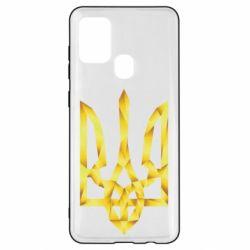 Чехол для Samsung A21s Золотий герб
