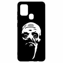Чехол для Samsung A21s Зомби (Ходячие мертвецы)