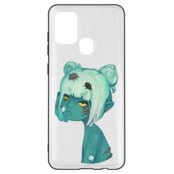 Чохол для Samsung A21s Zombie girl with beetles