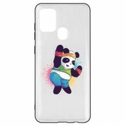 Чохол для Samsung A21s Zumba Panda