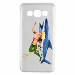 Чехол для Samsung A3 2015 Aquaman with a shark