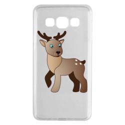 Чехол для Samsung A3 2015 Cartoon deer