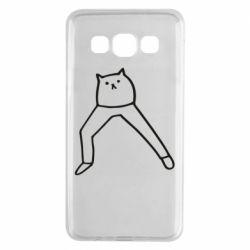 Чохол для Samsung A3 2015 Cat in pants