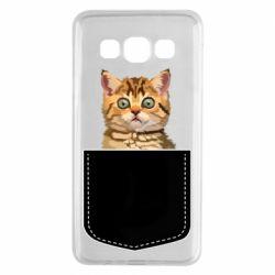 Чехол для Samsung A3 2015 Cat in your pocket