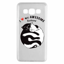 Чехол для Samsung A3 2015 Cats and love