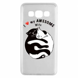 Чехол для Samsung A3 2015 Cats with a smile