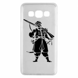 Чехол для Samsung A3 2015 Cossack with a gun