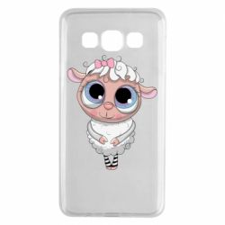 Чехол для Samsung A3 2015 Cute lamb with big eyes