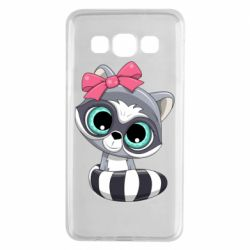 Чехол для Samsung A3 2015 Cute raccoon