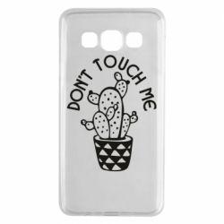 Чехол для Samsung A3 2015 Don't touch me cactus