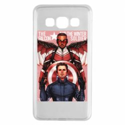 Чохол для Samsung A3 2015 Falcon and the Winter Soldier Art