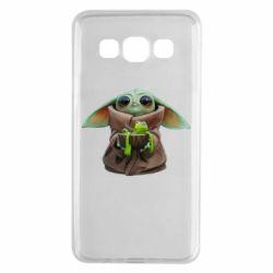 Чохол для Samsung A3 2015 Grogu and Kermit