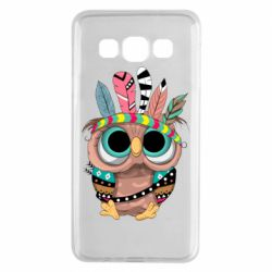 Чохол для Samsung A3 2015 Little owl with feathers