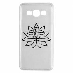 Чохол для Samsung A3 2015 Lotus yoga