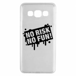 Чохол для Samsung A3 2015 No Risk No Fun