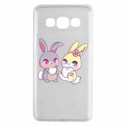 Чохол для Samsung A3 2015 Rabbits In Love