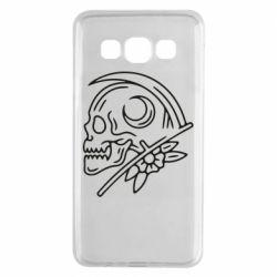 Чохол для Samsung A3 2015 Skull with scythe