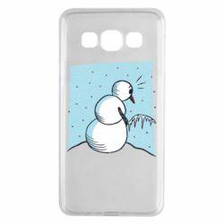 Чохол для Samsung A3 2015 Snowman. It's Cold!