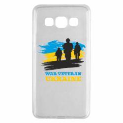 Чохол для Samsung A3 2015 War veteran оf Ukraine