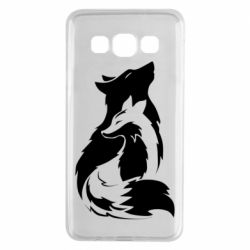 Чехол для Samsung A3 2015 Wolf And Fox