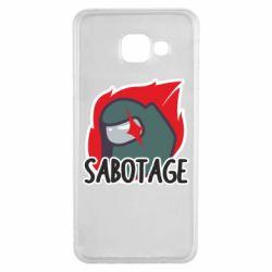 Чохол для Samsung A3 2016 Among Us Sabotage