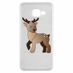 Чехол для Samsung A3 2016 Cartoon deer